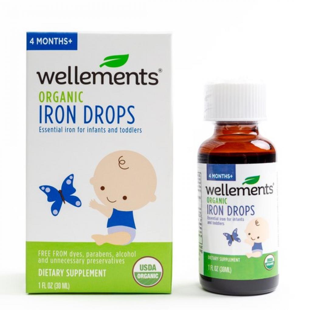 위해식품 Iron Drops liquid Dietary Supplement (1oz/30ml) 제품 이미지