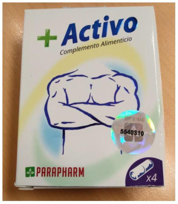 위해식품 +ACTIVO CÁPSULAS 제품 이미지